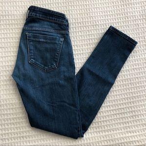 AGOLDE Chloe low rise skinny jeans blue 25